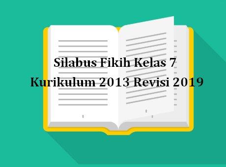 Silabus Fikih Kelas 7 Kurikulum 2013 Revisi 2020 Sch Paperplane