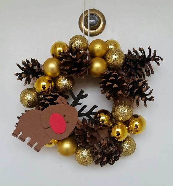 Corona de navidad para decoración