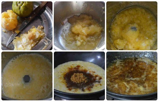 Nathangai Sweet pachadi/Citron Sweet Pachadi