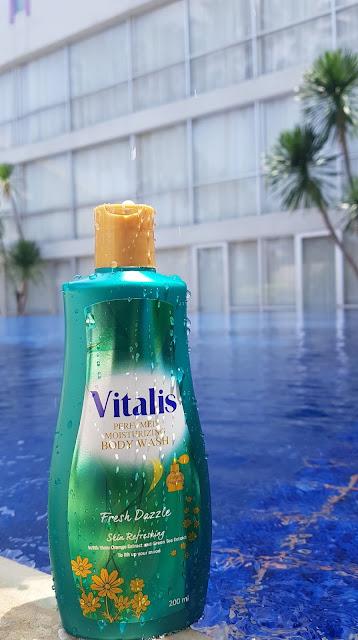 varian fresh dazzle vitalis body wash