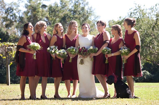 ba2edb9e89 Fabulous 5 Oxblood Bridesmaid Dresses For Fall Wedding. Believe it or not