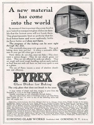 Pyrex - A new material has come into the world