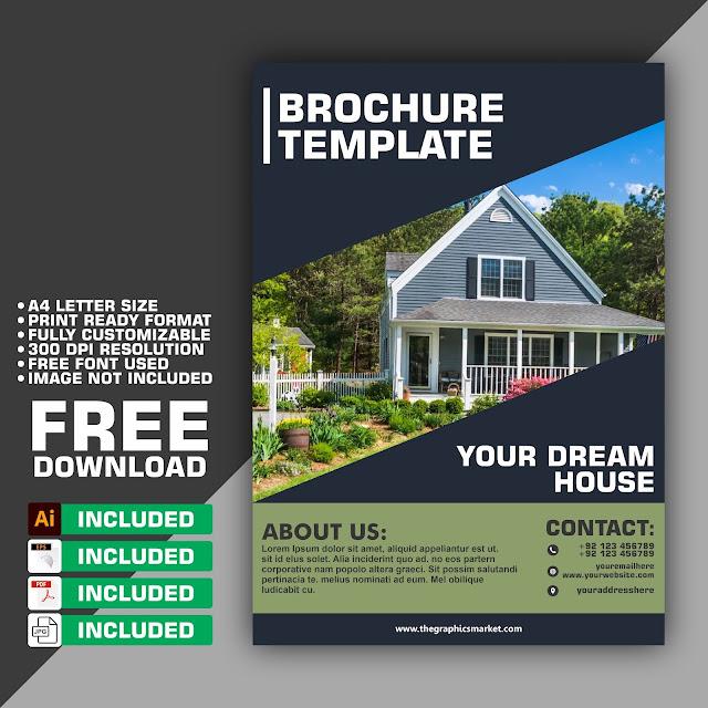 brochure design template free download