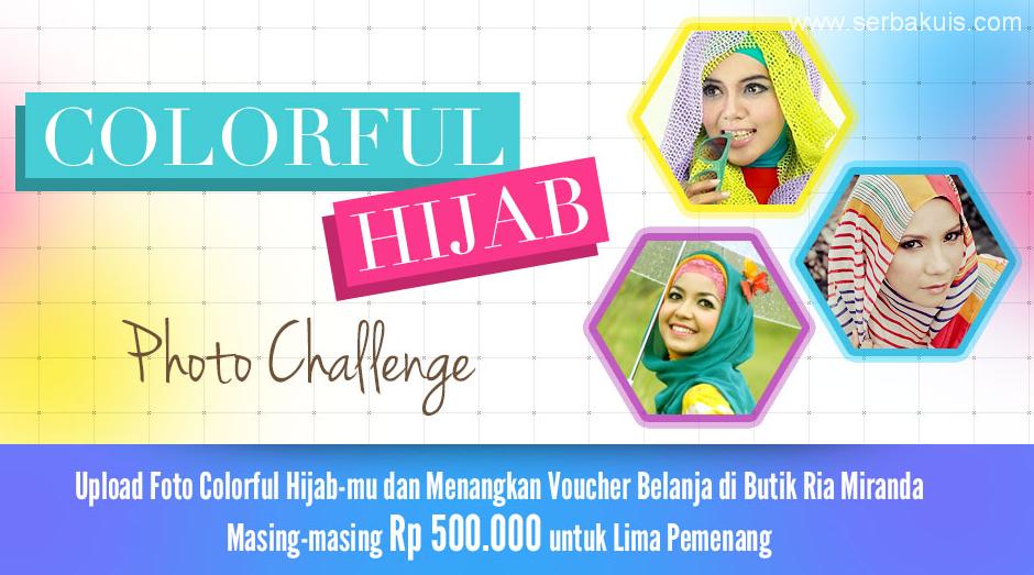 Kontes Hijab Photo Challenge Berhadiah Voucher Belanja 2,5 JUTA