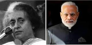 اندرا گاندھی نے ایمرجنسی نافذ کی