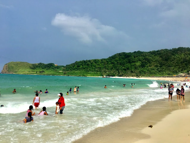 Blue Lagoon. Blue Lagoon Pagudpud is part of our Ilocos Tour 2 Days 1 Night Package Tour Itinerary.