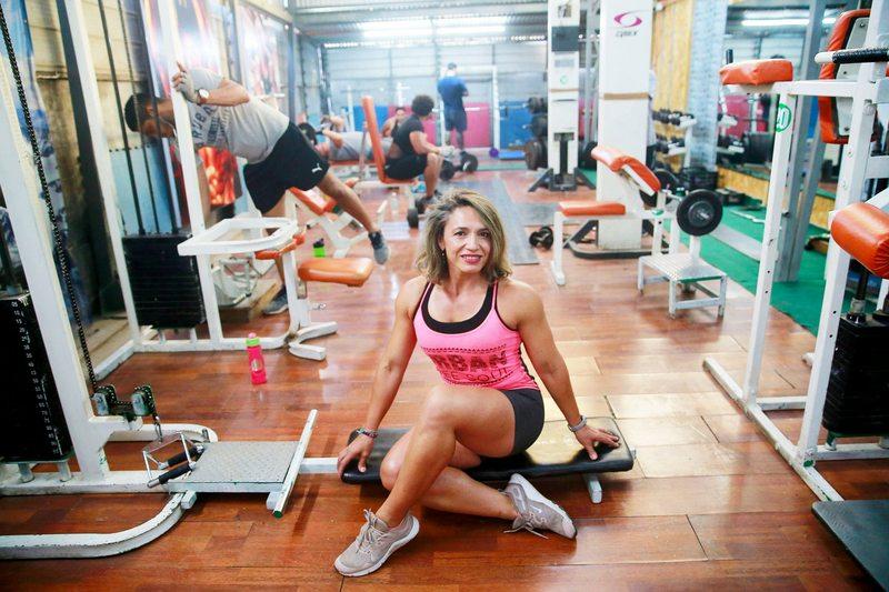 Familia fitness inauguró un gimnasio en Peñalolén