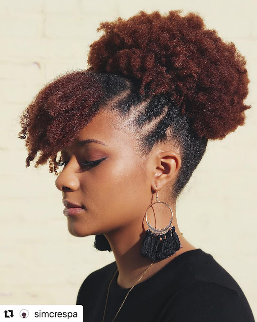 2019 Lovely Natural Hairstyles to Try