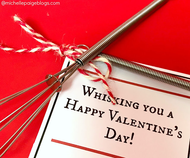 Whisking You a Happy Valentine's Day- Free Printable @michellepaigeblogs.com