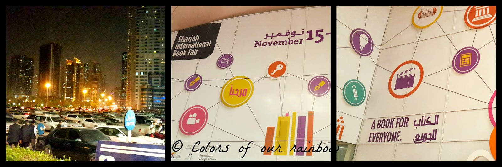 Sharjah book fair 2014