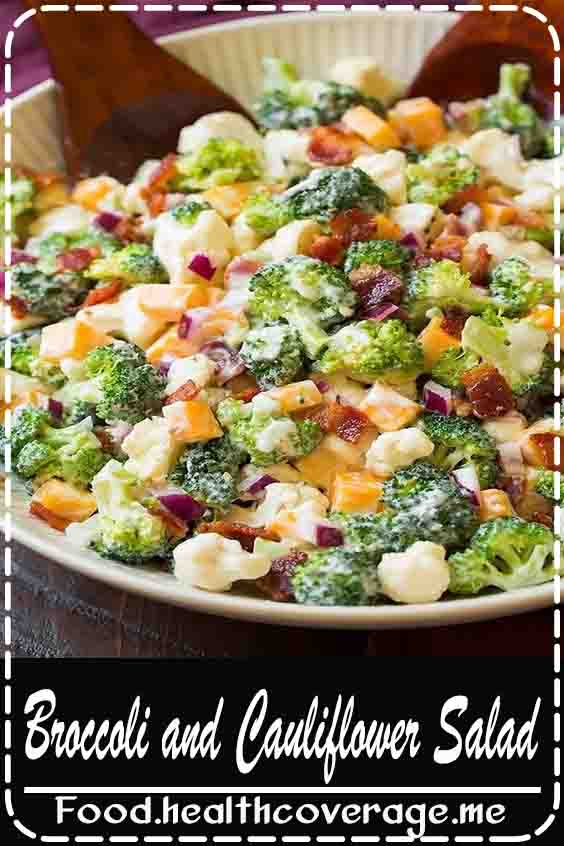 Broccoli never tasted so good! Raw broccoli can be totally boring but when you toss it into a salad with cheese and bacon and cover it with a creamy dressing incredible things just happen!