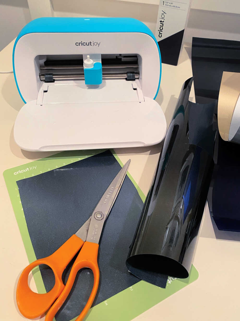 cricut joy heat transfer vinyl material