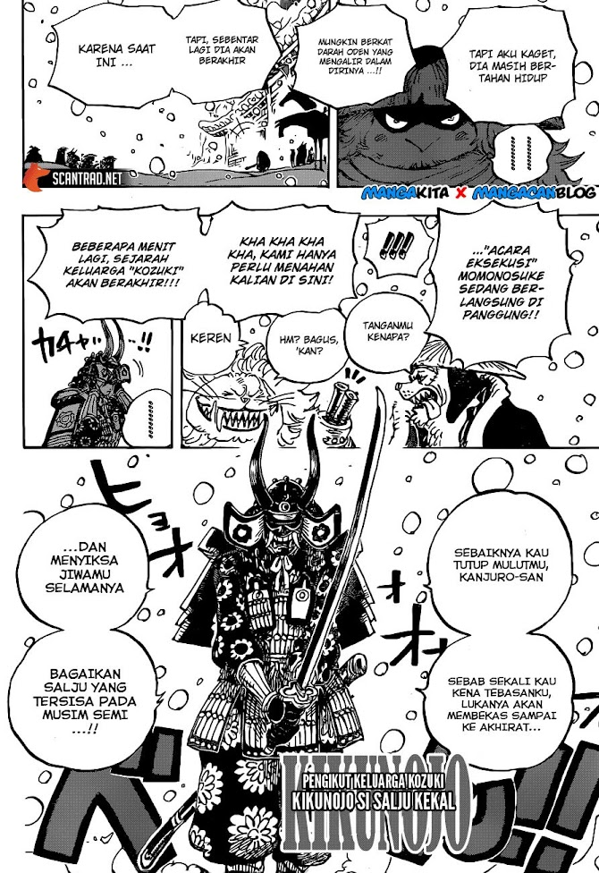 Baca Komik One Piece Chapter 985