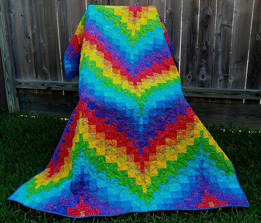 Bargello Quilt Basics: 3 Steps to Bargello Quilts by Carol Thelen of Quilt Notes