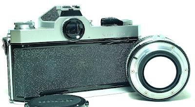 Nikomat FT2 (Chrome) Body #863, Nikkor Ai 50mm f/1.4 #692