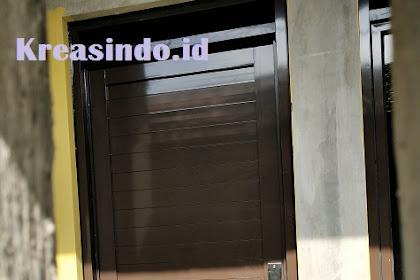 Pintu Aluminium untuk Kamar Rumah atau Kamar Mandi siap Melayani di Depok dan Sekitarnya