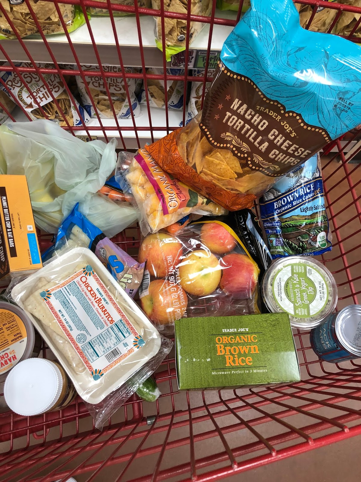 The Pink Caterpillar: College Trader Joe's Haul: Grocery
