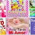 Buenas tardes, Hermosas tarjetas y postales con frases y mensajes para Washap, Facebook, instagram