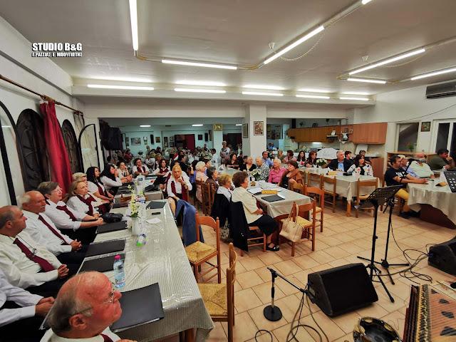 Εκδήλωση στη Νέα Κίο Αργολίδας για φιλανθρωπικό σκοπό (βίντεο)