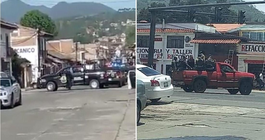 Video: ¡Ya estamos aquí!... Cien sicarios de 'Cárteles Unidos' irrumpen en Pátzcuaro; Michoacán