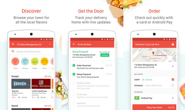 DoorDash Food Delivery App For Android