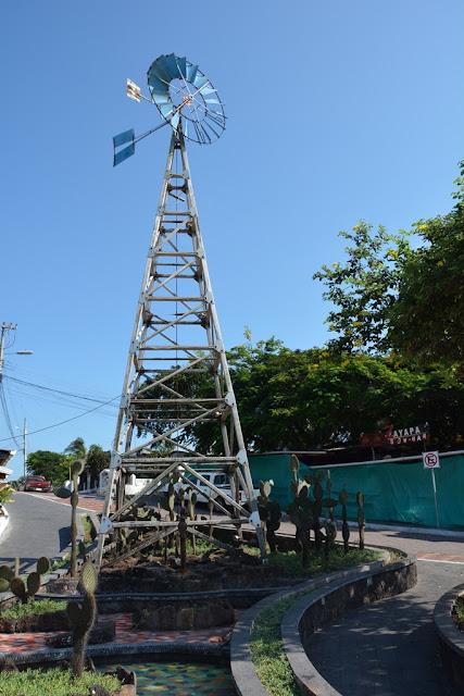 Santa Cruz city Galapagos