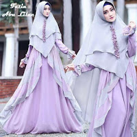 Baju Busana Muslim Gamis Fatin Syari