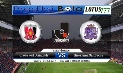 Prediksi Pertandingan antara Urawa Red Diamonds vs Hiroshima Sanfrecce Tanggal 01 Juli 2017