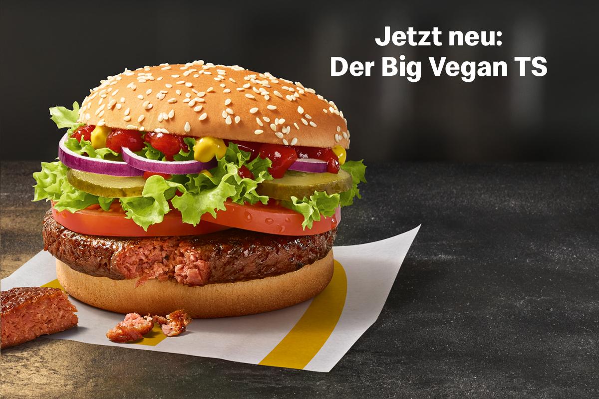 McDonald's präsentiert den Big Vegan TS | Ob du's glaubst oder nicht, es wird fleischlos