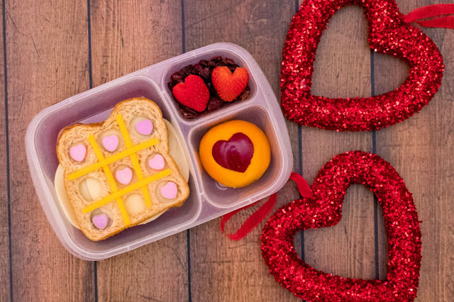 How to Make a Tic-Tac-Toe I Love You Valentine's Day Lunch Recipe