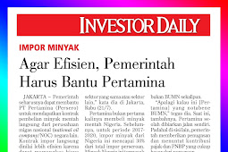 To be efficient, the government must help Pertamina