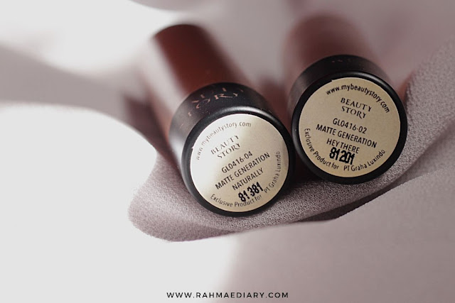 My beauty story matte generation