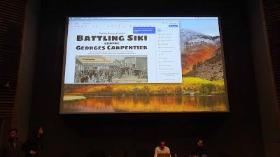 BDnF, application BD numérique publiée par la BnF, Raphael Messan