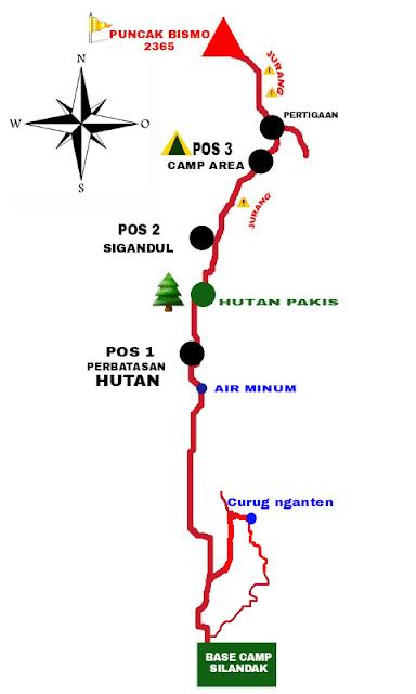 Pendakian Gunung Bismo Via Silandak