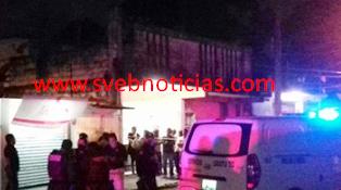 Ejecutan a hombre y mujer dentro de un bar en Cosoleacaque Veracruz