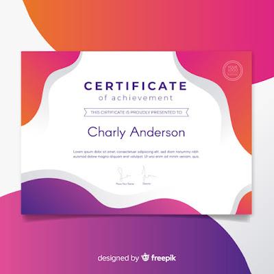 desain-sertifikat-kosongan