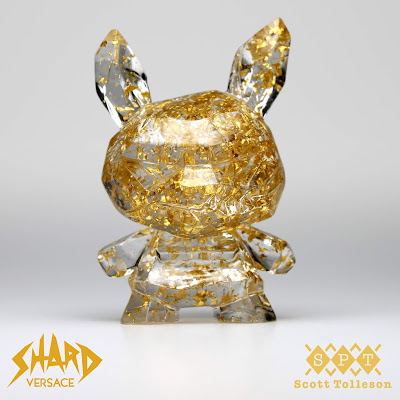 "Shard Versace Edition Dunny 3"" Resin Figure by Scott Tolleson"