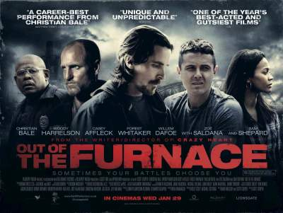 Out of the Furnace (2013) Hindi + Eng + Telugu + Tamil Dubbed 480p