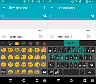 Cara Instal Xperia Keyboard APK di Android Tanpa Root