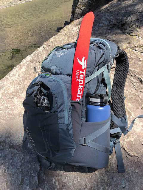 My Osprey Backpack with a Tenkara USA Rhodo