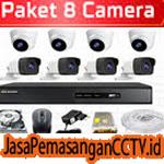 Paket Pasang CCTV 8 Kamera