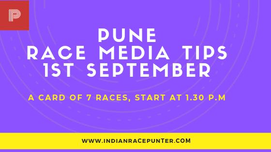 Pune Race Media Tips 1st  September