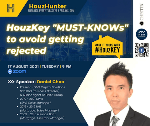 """HouzHunter: HouzKey """"Must-Knows"""" to Avoid Getting Rejected"""