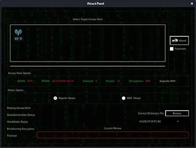 Fern attack panel