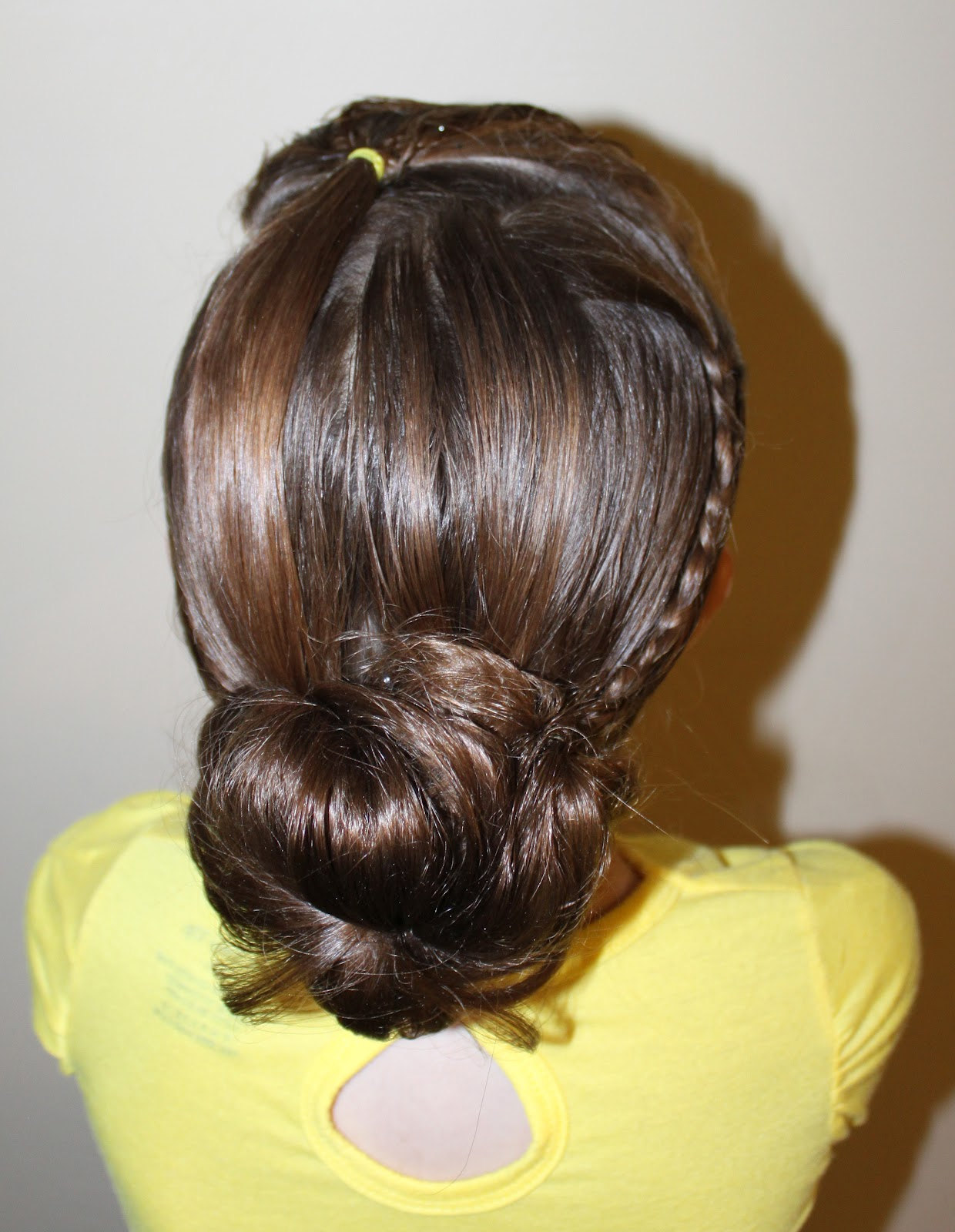 Hairstyles for Girls.. The Wright Hair: Poof Braid to Bun
