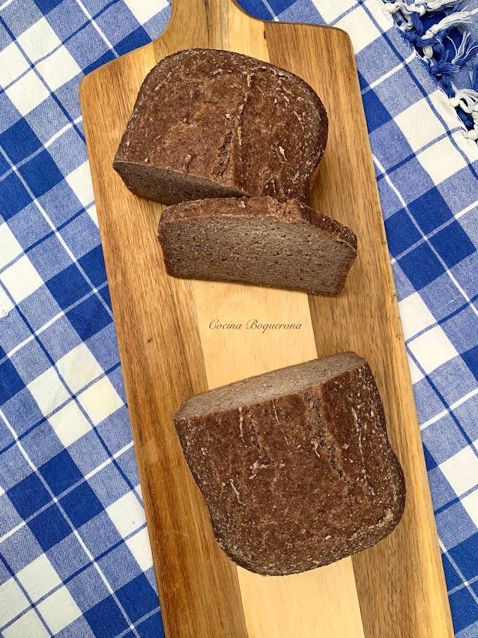 Pan con trigo sarraceno y arroz con chía (en panificadora)