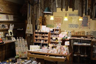 東京都調布市の喫茶・カフェ 手紙舎 2nd STORY 雑貨コーナー