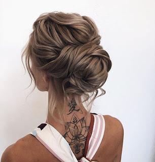 peinado de novia chongo bajo
