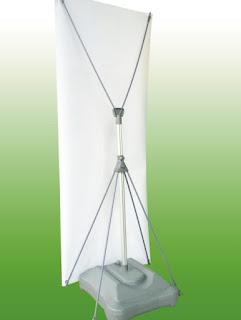 standee chống gió 2 mặt poster