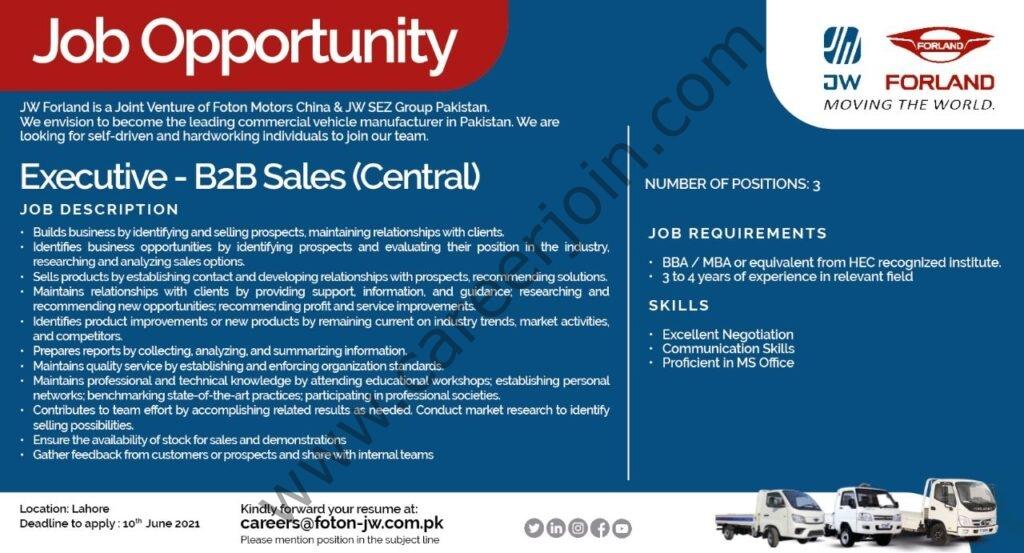 Hyundai Pakistan Jobs 2021 in Pakistan